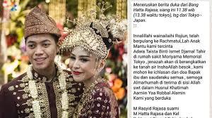 Permalink to Menikah Desember Lalu, Menantu Hatta Rajasa Meninggal Dunia