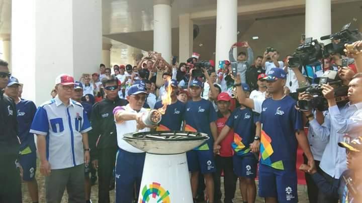 Permalink to Ribuan Warga Ogan Ilir Antusias Sambut Obor Api Asian Games