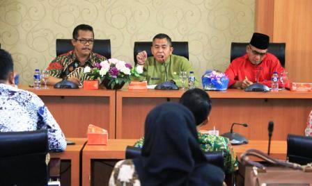 Permalink to Belajar e-Planing Anggota DPRD Klaten Sambangi Palembang