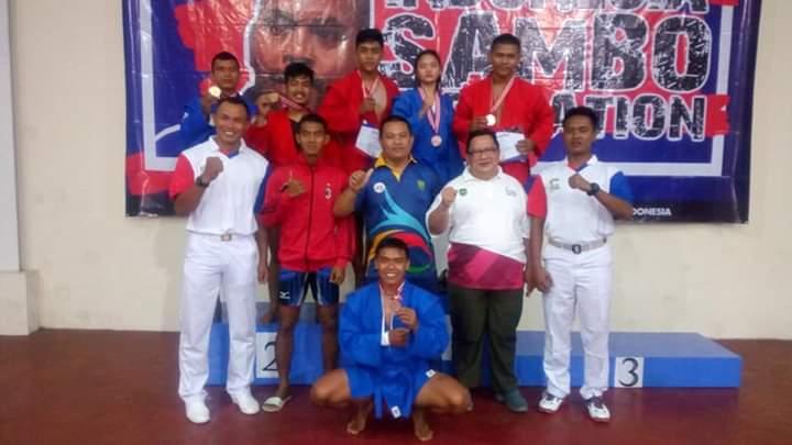 Permalink to Atlet Sumsel Sumbang 5 Medali di Kejurnas Sambo 2019