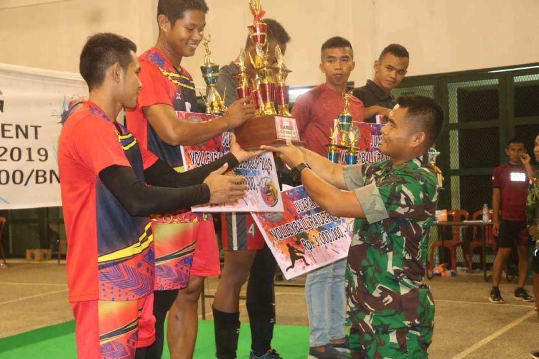 Permalink to Danyonif Raider 200/BN Apresiasi Pemenang Turnamen Volley Ball