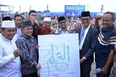Permalink to Tilawatil Qur'an Tingkat Pelajar Palembang Pecahkan Rekor Muri