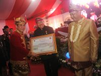 Gubernur Sumsel Dapat Gelar Pangeran Natadiraja Utama