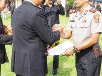 Ungkap 3C, 5 Anggota Polsek Lubuk Linggau Selatan Terima Penghargaan