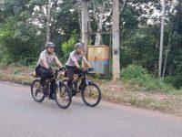 Patroli Bersepeda, Tekan Aksi Kriminal
